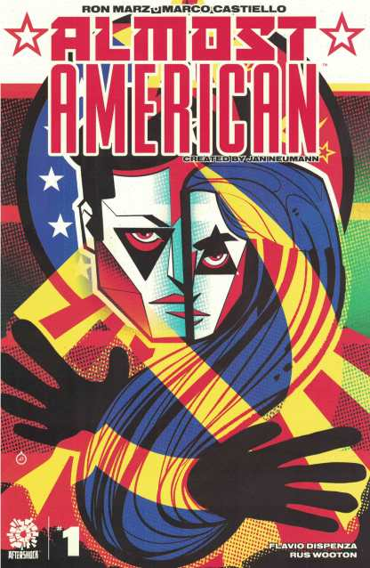 Almost American #1 1:15 Juan Doe Variant Aftershock 2021