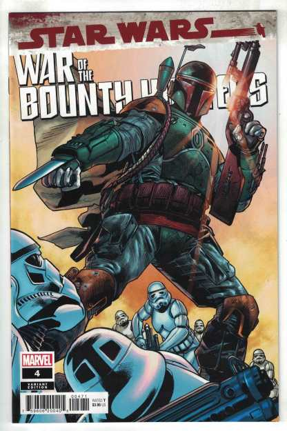 Star Wars War of the Bounty Hunters #4 1:50 Hitch Variant Marvel 2021 VF/NM