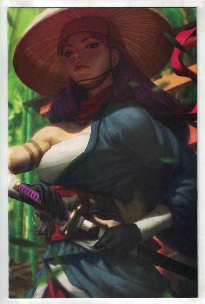 Demon Days X-Men #1 1:100 Artgerm Virgin Variant Momoko Marvel 2021 VF/NM
