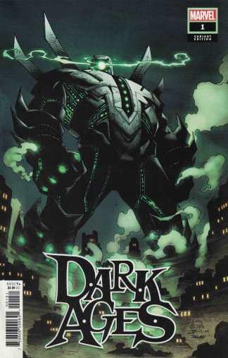 Dark Ages #1 1:50 Stegman Variant Tom Taylor Marvel 2021