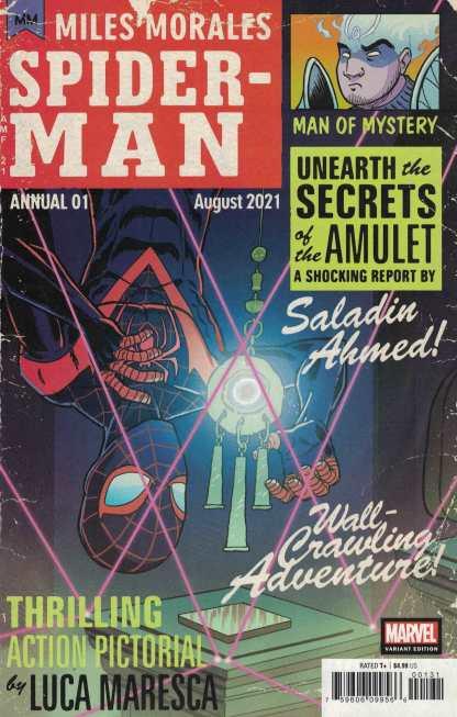 Miles Morales Spider-Man Annual #1 1:25 Fleecs Variant Marvel 2021