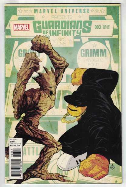 Guardians of Infinity #3 1:25 Juan Doe Variant Marvel 2015 VF/NM
