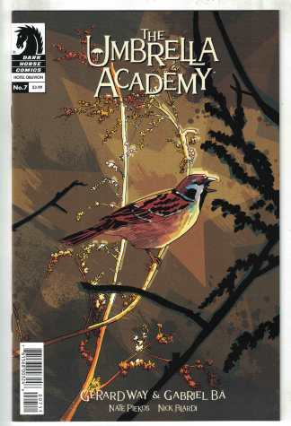 Umbrella Academy #7 Gabriel Ba Cover A Gerard Way Dark Horse 2018 VF/NM