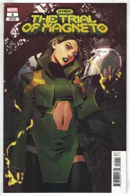 X-Men Trial of Magneto #2 1:25 Gerald Parel Variant Marvel 2021 VF/NM