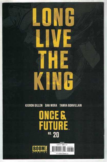 Once & Future #20 1:25 Ryan Sook Variant Boom 2019 VF/NM