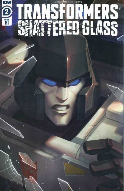 Transformers Shattered Glass #2 1:10 Sara Pitre-Durocher Variant IDW 2021