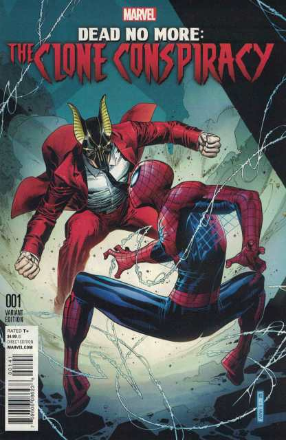 Clone Conspiracy #1 1:50 Jim Cheung Variant Amazing Spider-Man Dead No More