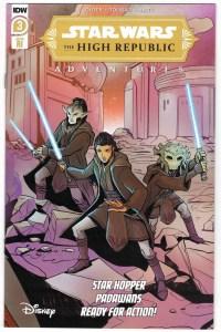 Star Wars High Republic Adventures #3 1:10 Yael Nathan Variant IDW 2021 VF/NM