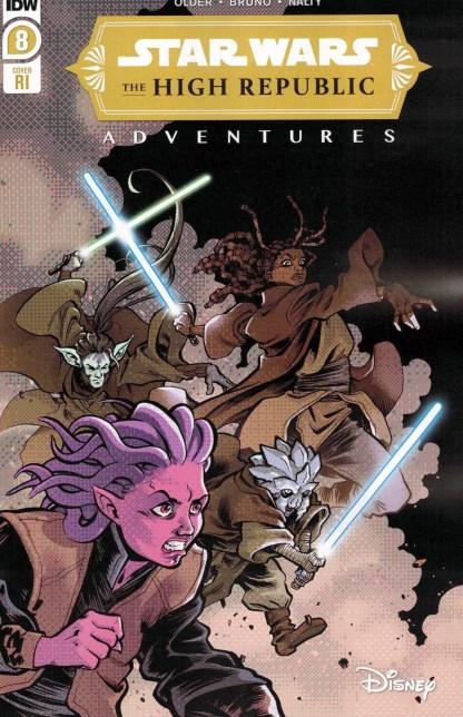 Star Wars High Republic Adventures #8 1:10 Ilias Kyriazis Variant IDW 2021