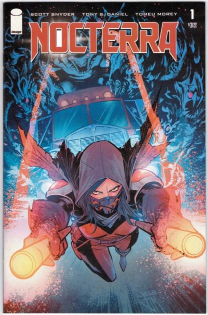 Nocterra #1 1:10 Manapul Variant Image 2021 Snyder Tony S. Daniel VF/NM