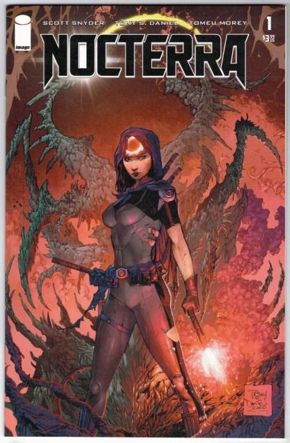 Nocterra #1 Cover A 1st Print Tony S. Daniel Variant Snyder Image 2021 VF/NM