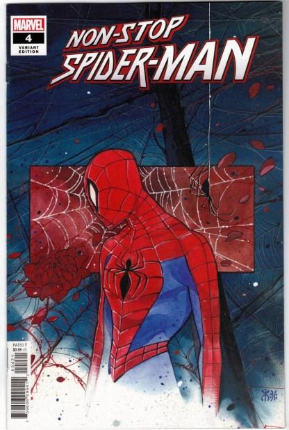 Non-Stop Spider-Man #4 1:25 Momoko Variant Marvel 2021 VF/NM