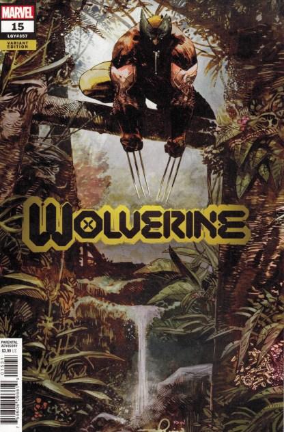Wolverine #15 1:25 Zaffino and Beredo Variant Marvel 2020