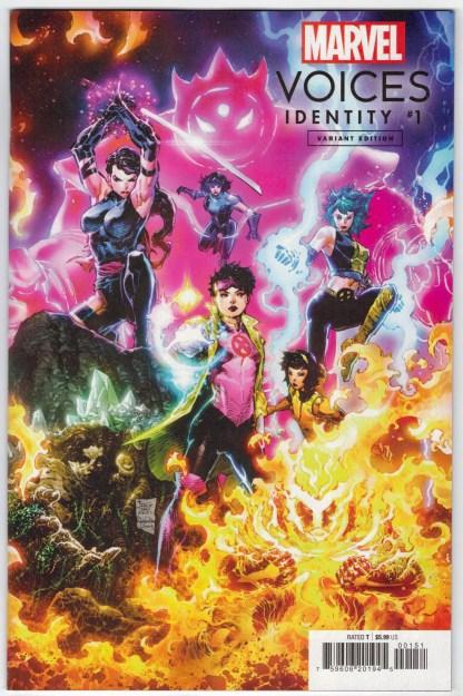 Marvels Voices Identity #1 1:25 Philip Tan Variant Marvel 2021 VF/NM