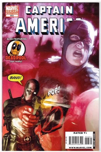 Captain America #603 1:15 Gerald Parel Deadpool Variant Marvel 2004 VF/NM