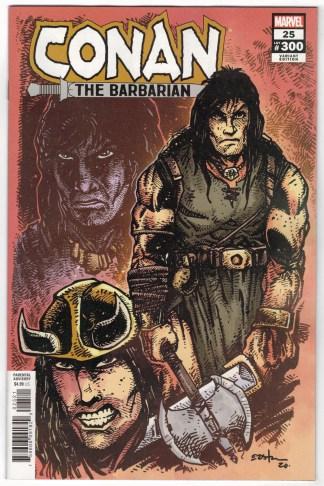 Conan the Barbarian #25 1:10 Kevin Eastman Variant Marvel 2019 VF/NM