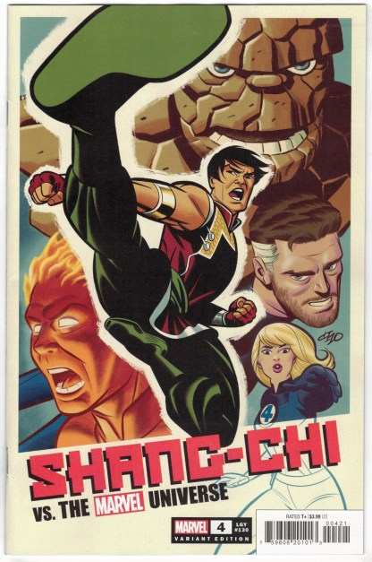 Shang-Chi #4 1:50 Frank Cho Variant Marvel 2021 VF/NM
