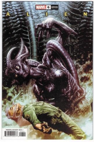 Alien #6 1:25 Jay Anacleto Variant Marvel 2021 VF/NM