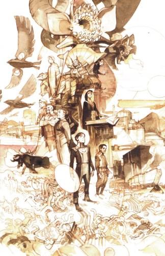 Dune House Atreides #5 1:50 Greg Tocchini Sketch Variant Boom 2020