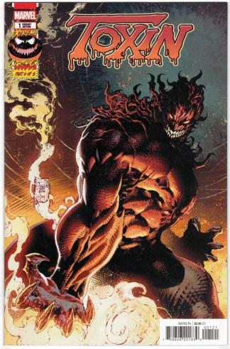 Extreme Carnage Toxin #1 1:10 Phillip Tan Variant Marvel 2021 VF/NM