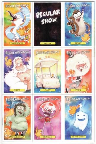 Regular Show #1 Dustin Nguyen Trading Card Variant Boom 2013 CN