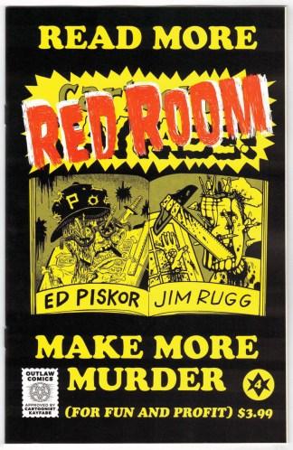 Red Room #4 1:5 Ed Piskor Read More Variant Fantagraphics 2021 VF/NM