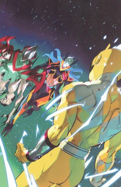 Power Rangers #11 1:15 Daniele Di Nicuolo Virgin Variant Boom 2020