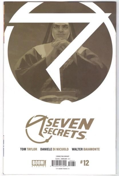 Seven Secrets #12 1:10 Miguel Mercado Connecting Variant Boom 2020 VF/NM