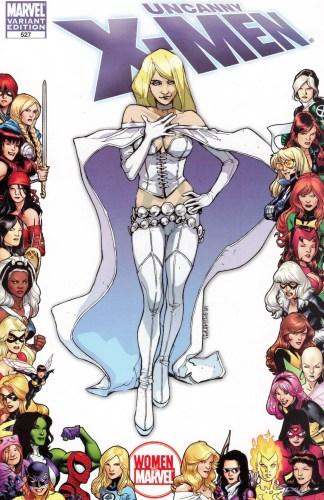 Uncanny X-Men #527 1:15 Sara Pichelli Women of Marvel Variant Emma Frost