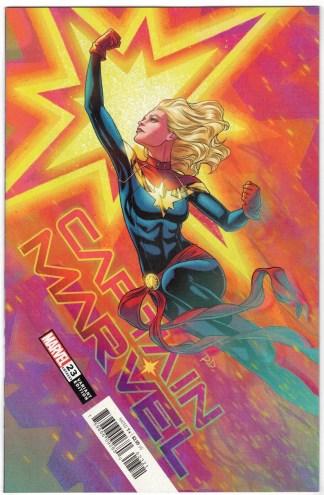 Captain Marvel #23 Russell Dauterman Variant Marvel 2018 Ove & Brigid VF/NM