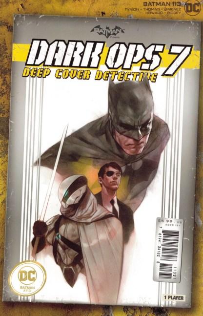 Batman #113 1:25 Ben Oliver Video Game Box Variant DC 2016 Fear State