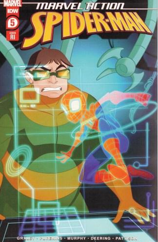 Marvel Action Spider-Man #5 1:10 Arianna Florean Variant IDW 2020