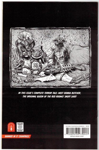 Red Room #4 1:10 Jim Rugg Spawn Homage Variant Fantagraphics 2021 VF/NM