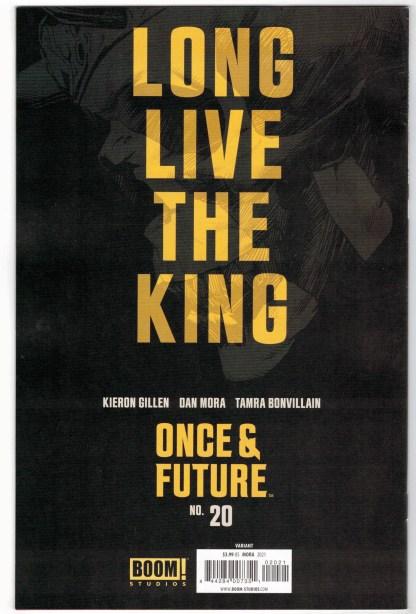 Once & Future #20 1:10 Dan Mora Black & White Variant Boom 2019 VF/NM