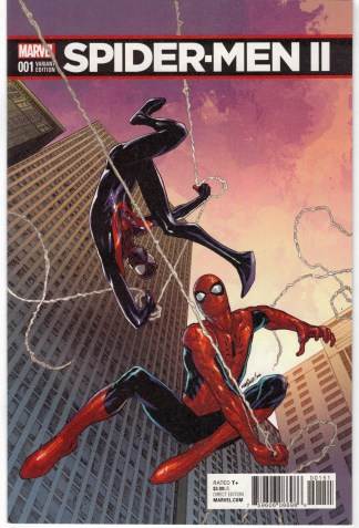Spider-Men II #1 1:25 David Marquez Variant Marvel 2017 1st Evil Miles VF/NM