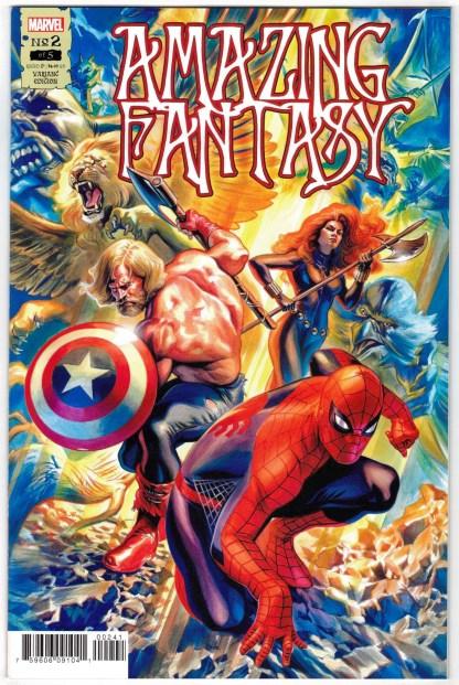 Amazing Fantasy #2 1:25 Felipe Massafera Variant Marvel 2021 VF/NM