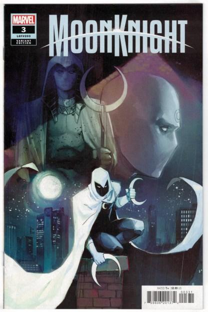 Moon Knight #3 1:25 Rod Reis Variant 1st Hunters Marvel 2021 VF/NM