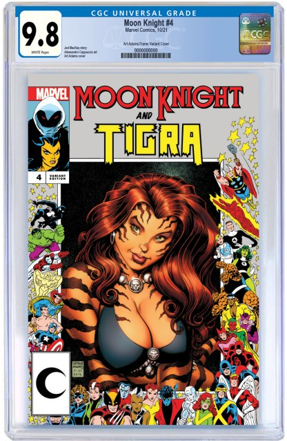 Moon Knight #4 Ultimate Comics Exclusive Art Adams Marvel Frame Variant 2021 Tirga CGC 9.8 -PREORDER