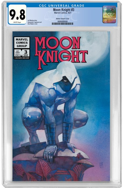 Moon Knight #3 Ultimate Comics Exclusive Alex Maleev Variant CGC 9.8 NM/NM+ PREORDER
