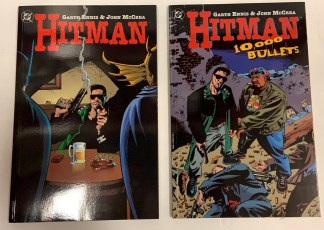 Hitman TPB #1-2 Garth Ennis John McCrea DC 1998 VF/NM