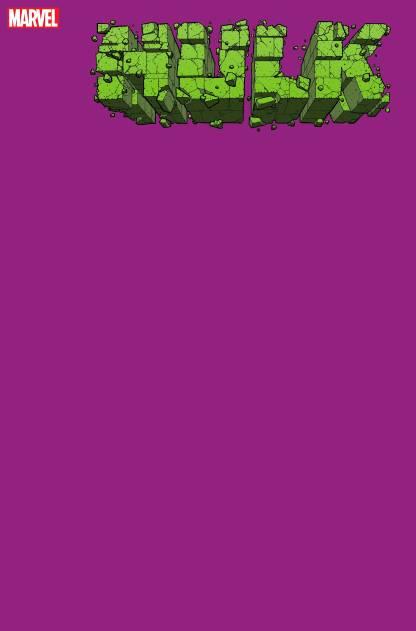 Hulk #1 1:200 Blank Sketch Purple Variant Marvel 2020 Donny Cates Ryan Ottley