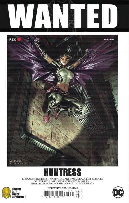 Detective Comics #1043 1:25 Kael Ngu Huntress Wanted Variant Fear State DC 2021