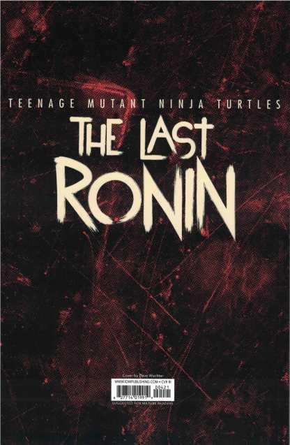 Teenage Mutant Ninja Turtles Last Ronin #4 1:10 Wachter Variant IDW 2020 Eastman