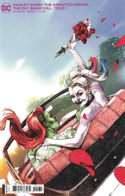 Harley Quinn Animated Series Eat Bang Kill Tour #1 1:25 Davi Variant DC 2021