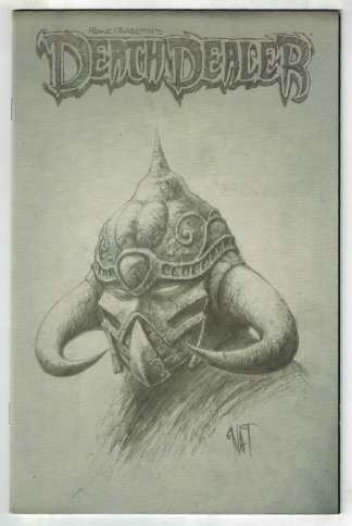 Death Dealer #1 Nat Jones Sketch Variant Frazetta Image 2007 VF/NM