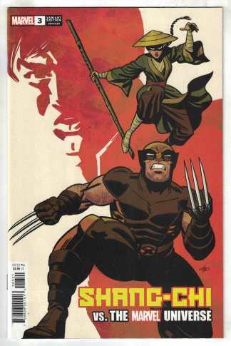 Shang-Chi #3 1:50 Michael Cho Variant Marvel 2021 NM-