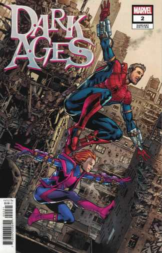 Dark Ages #2 1:25 Bryan Hitch Variant Tom Taylor Marvel 2021