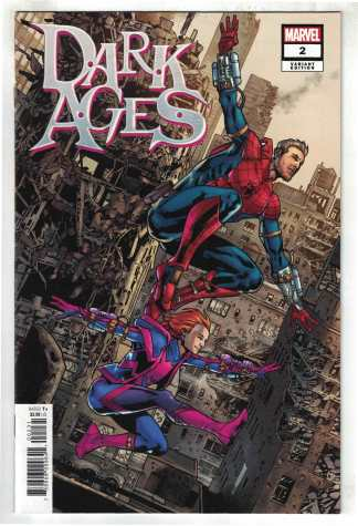 Dark Ages #2 1:25 Bryan Hitch Variant Tom Taylor Marvel 2021 VF/NM