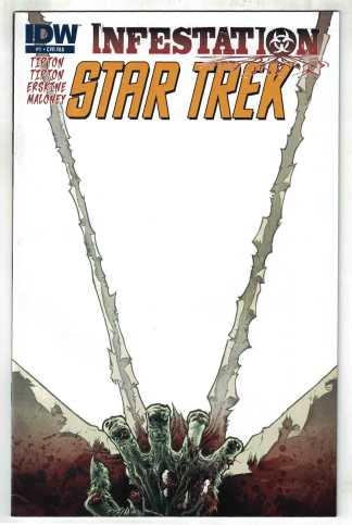 Star Trek Infestation #1 1:10 Rodriguez Variant IDW 2011 VF