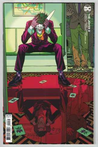 Joker #2 Stelfreeze Variant 1st Vengeance Tynion IV DC 2021 VF/NM